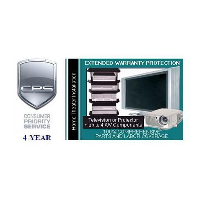 Consumer Priority Service HTI4-5000 4 Year Home Theater System under $5 000.00