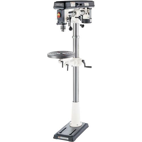 """Shop Fox W1670 1 2 Hp 34"""" 5-Speed Radial Drill Press 3-1 4"""" Spindle Travel by"""