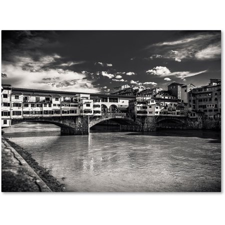 Trademark Fine Art u0022Letters From Florenceu0022 Canvas Art by Giuseppe Torre