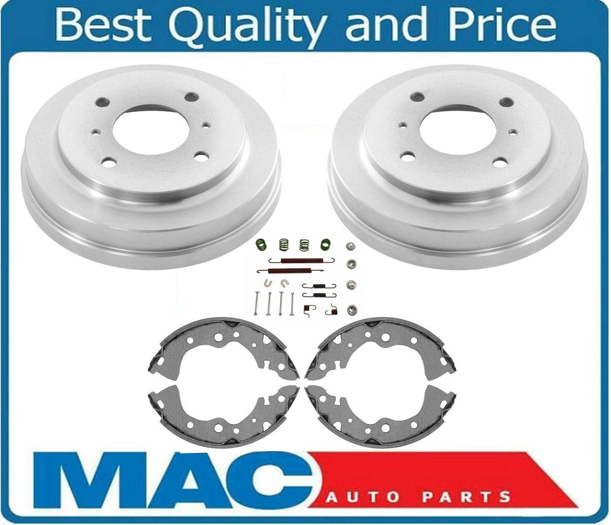 fits For 2002 Jeep Liberty 100/% New Rear Brake Drums /& Brake Shoes Springs 4Pc