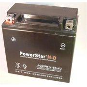 PowerStar PM14-BS-HD-150 Ytx14-Bs 230Cca Battery