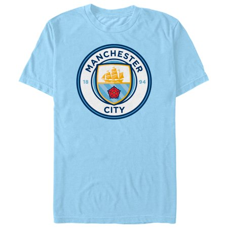 Manchester City Football Club Men's Team Logo T-Shirt