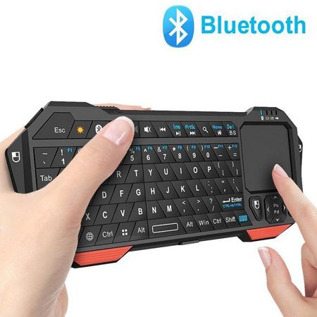 mini bluetooth keyboard vive comb led backlit rechargable handheld remote control wireless mini. Black Bedroom Furniture Sets. Home Design Ideas
