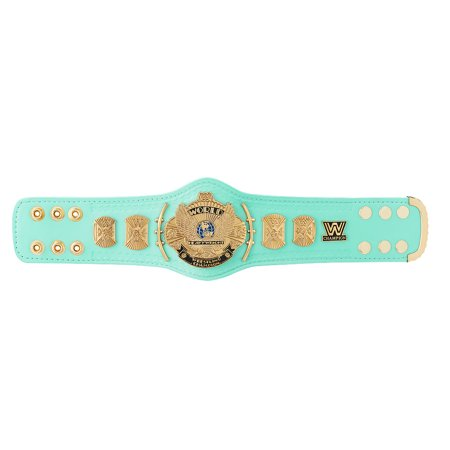 Official WWE Authentic  Blue Winged Eagle Championship Mini Replica Title Belt](Wwe World Heavyweight Championship Belt)