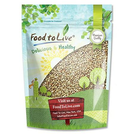 Coriander Seeds, 1 Pound - Kosher, Non-GMO, Raw, Vegan - by Food to