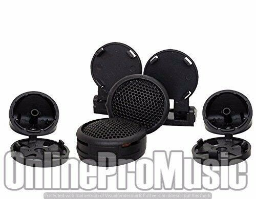 Pair Absolute TW-500 500WATTS MAX High Efficiency Dome Tweeter with Built-in Crossover