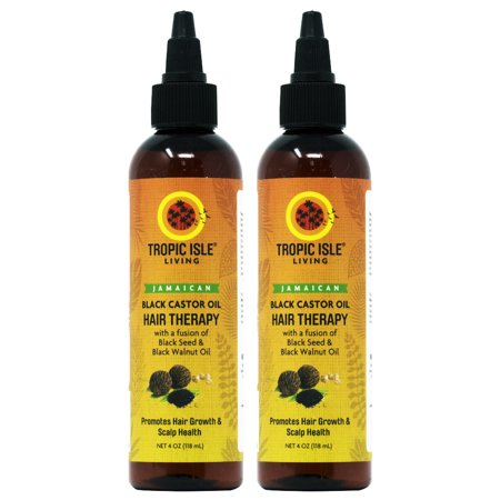 Jamaican Black Castor Oil Hair Therapy With Black Seed And Walnut