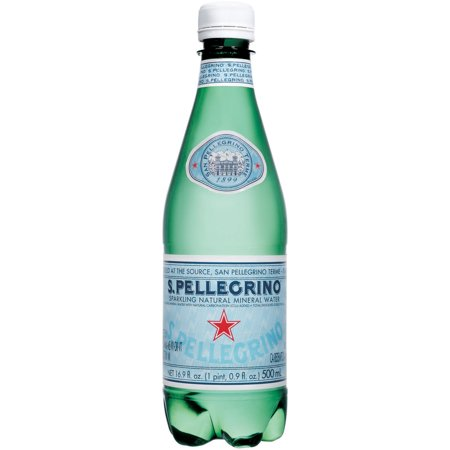 SANPELLEGRINO Sparkling Natural Mineral Water, 16.9-ounce plastic bottle