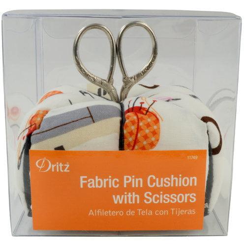 Dritz Pin Cushion with Scissors