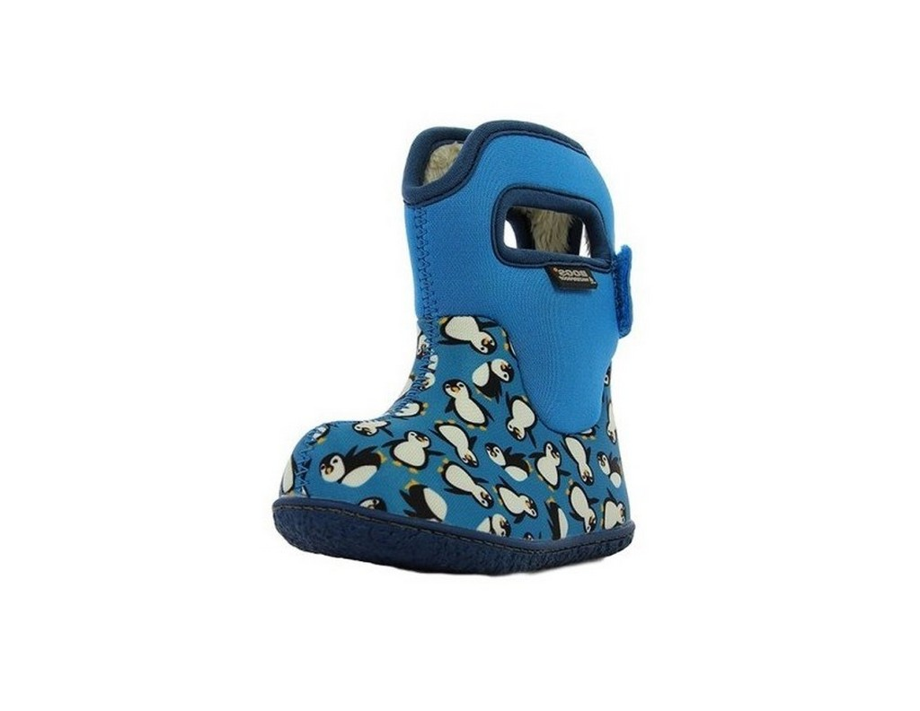 Bogs Boots Girls Baby Penguins Pull On Waterproof Rubber 72016I by Bogs