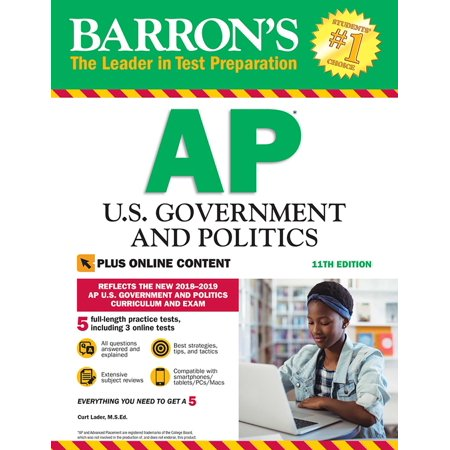 Barron's AP U.S. Government and Politics with Online (A1134 Ap)