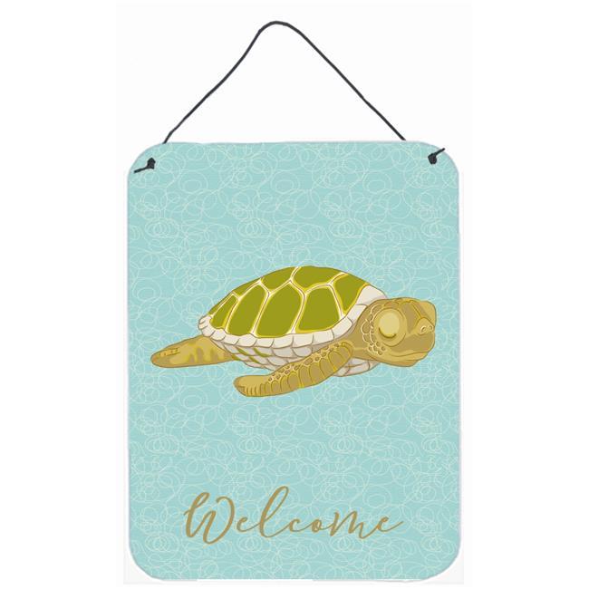 Carolines Treasures BB8570DS1216 Sea Turtle Welcome Wall or Door Hanging Prints - image 1 de 1