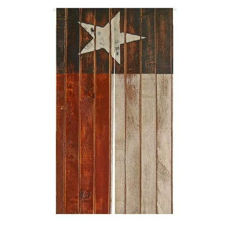 Dior Star - GCKG Texas Star Flag Japanese Noren Curtain,Texas Star Flag Doorway Curtain Door Curtain Entrance Curtain Cotton Linen Curtain Size 85x150cm