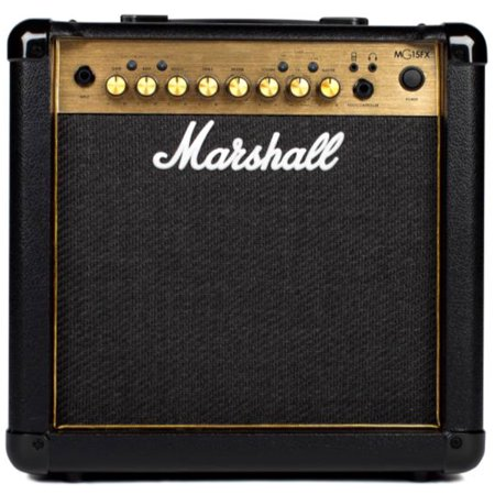 Marshall MG15GR 15Watt 1X8 Combo With 2 Channels, Reverb, Mp3 Input (Marshall Amp 30)