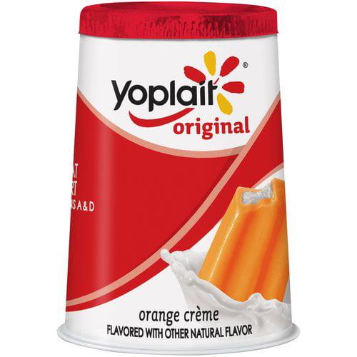 Yoplait? Original Orange Creme Flavored Low Fat Yogurt 6 oz. Cup
