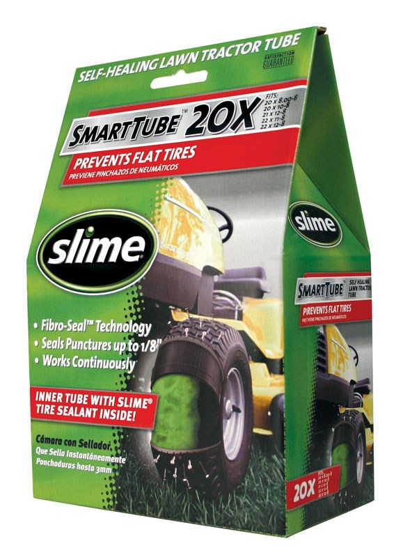 Slime SmartTube Lawn Tractor Tube 20 in. Dia. x 8 in. W by Slime