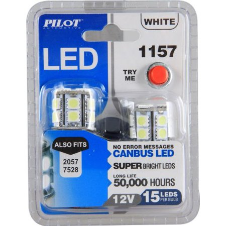 - Pilot IL-1157W-15  Replacement White LED Bulbs - 2 Pieces