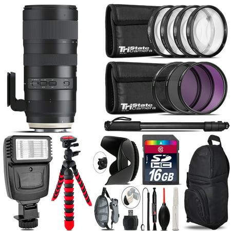 Tamron 70-200mm G2  for Nikon + Flash +  Tripod & More - 16GB Accessory