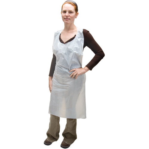 Zenith Safety Products Polyethylene Apron, 46-Inch, Bag of 100 - image 1 of 1