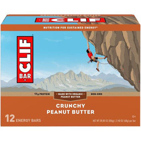 CLIF Bar® Crunchy Peanut Butter Energy Bars 12-2.4 oz.