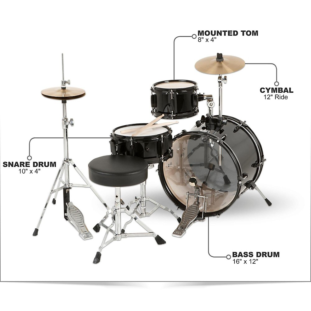 Mini Desk Drum Kit Hostgarcia