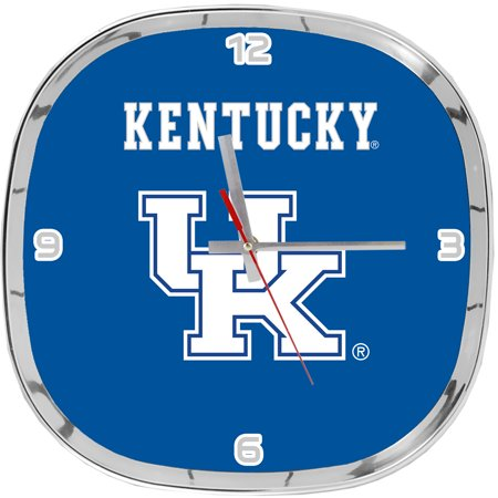 Chrome Clock- Kentucky Wildcats