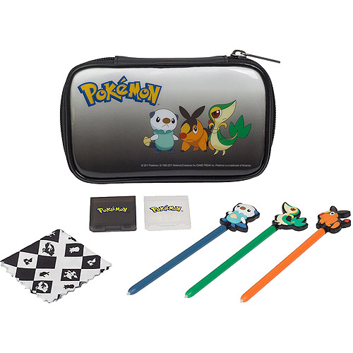 Pokemon Character Kit w/ Case, Styluses, and Game case