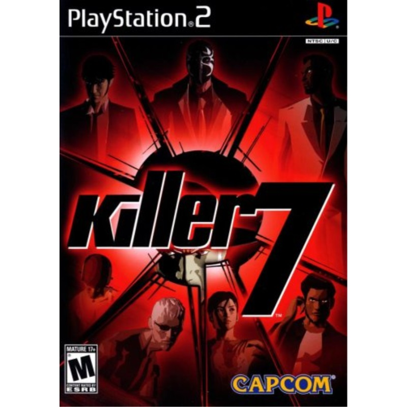Killer 7 PlayStation 2 by
