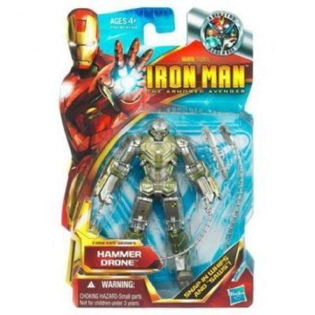 Iron Man The Armored Avenger Concept Series Hammer Drone Figure #44 (Iron Man Armor Replica)