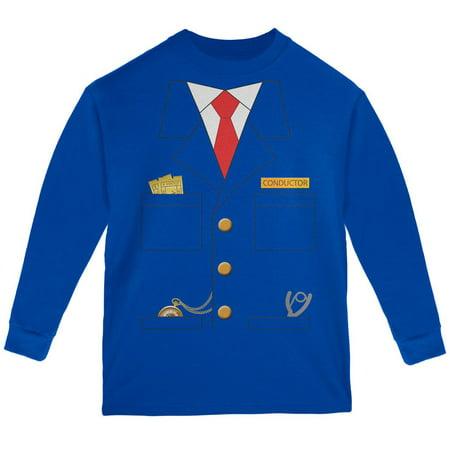 Halloween Train Conductor Costume Youth Long Sleeve T Shirt](New Hope Halloween Train)