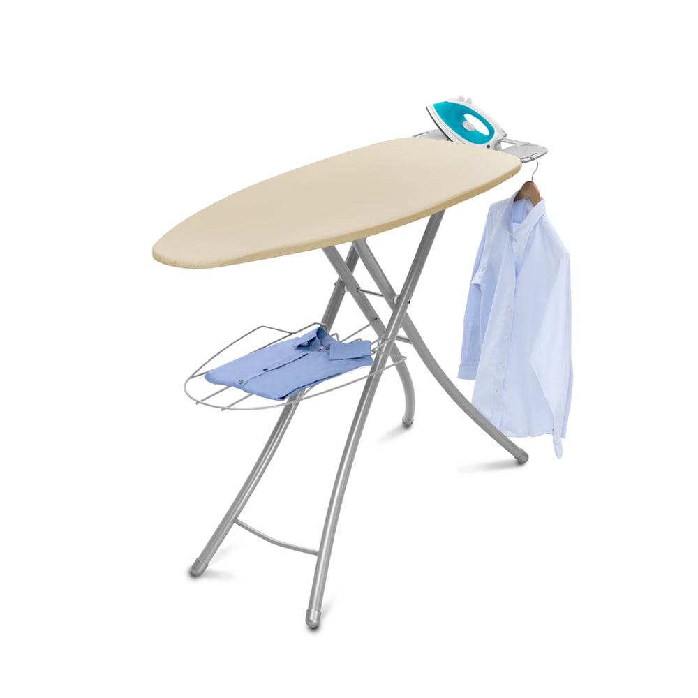 Silver//Orange Homz Durabilt DB100 Steel Mesh Top Ironing Board