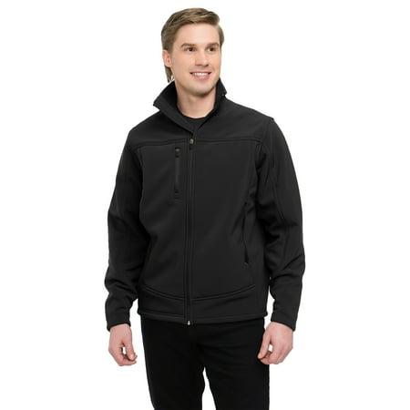 Tri-Mountain Wholesale Rockford 6825 Bonded Soft Shell Jacket, 2X-Large, - Jacket Wholesale