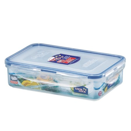 Easy Essentials On the Go Meals Divided Rectangular Food Storage Container,