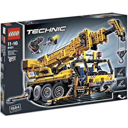 technic mobile crane set lego 8421. Black Bedroom Furniture Sets. Home Design Ideas