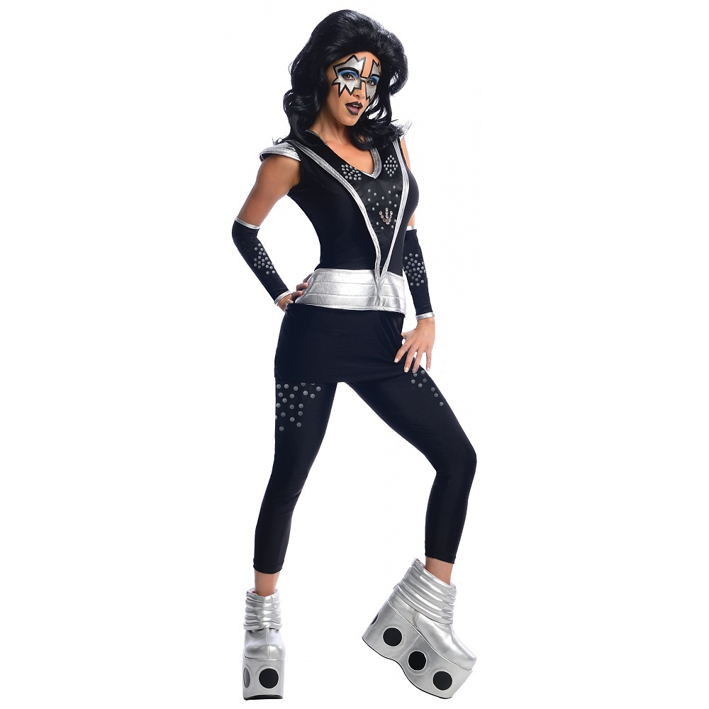KISS Adult Costume Spaceman Ace Frehley - Medium