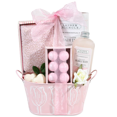 Rose Petals Gift Basket