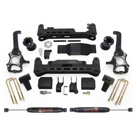 Orv Lift Kit - Readylift 44-2575-K-4 7 ft. ft. Lift Kit for Ford F-150 4WD, Black
