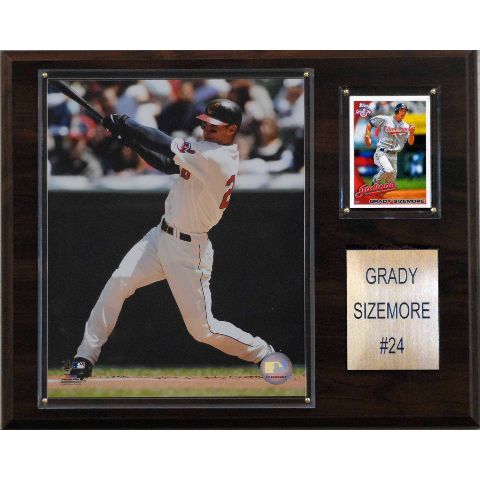 C&I Collectables MLB 12x15 Grady Sizemore Cleveland Indians Player Plaque