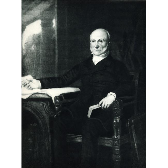 Posterazzi DPI1858944LARGE John Quincy Adams 1767-1848 6th President of The United States Poster Print, Large - 26 x 34 - image 1 of 1