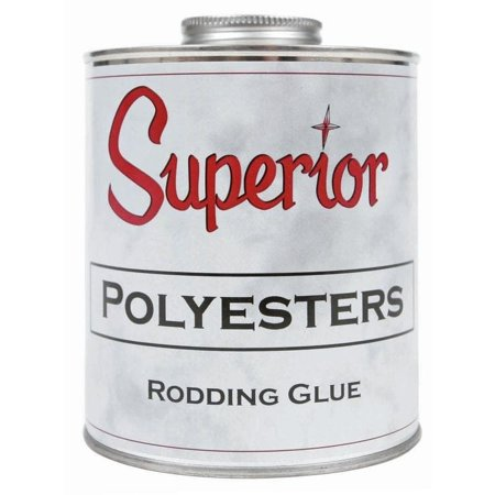 Superior Stone Products SUPERIOR Polyester Rodding Glue - Adhesive Polyester
