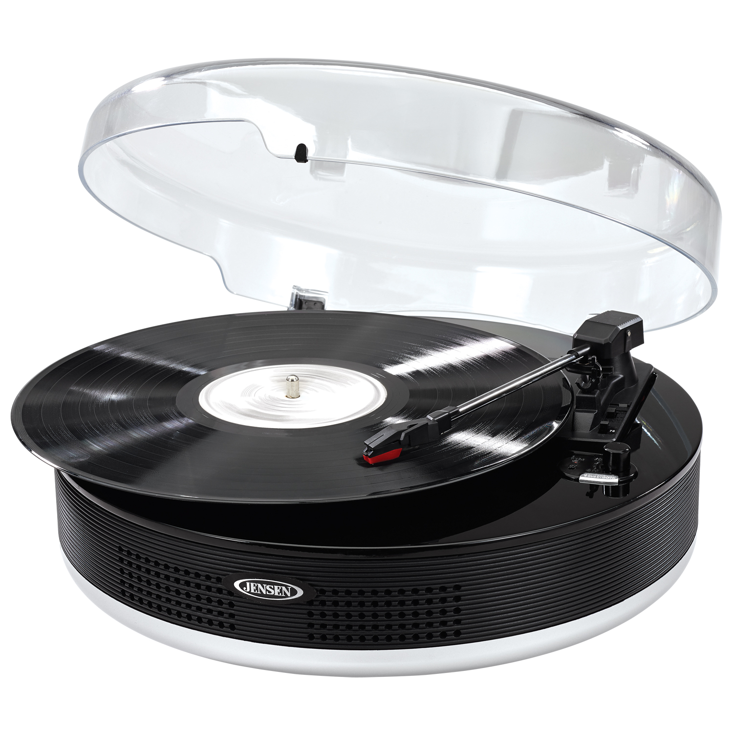 Jensen 3-Speed Stereo Turntable with Bluetooth by Jensen