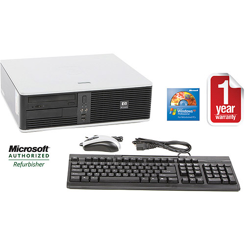 HP Refurbished DC5700 Desktop PC with Intel Pentium D 945 Processor, 2GB Memory, 80GB Hard Drive and Windows XP Professional (Monitor Not Included)