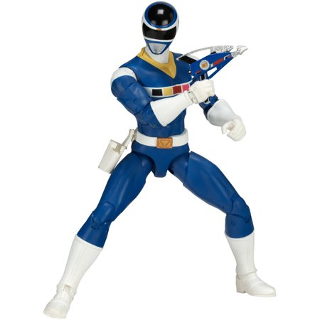 Power Rangers Cartoons Kids (Power Rangers Legacy Mighty Morphin Movie Blue)
