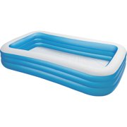 intex swim center 72 x 120 family backyard inflatable swimming pool 58484ep image