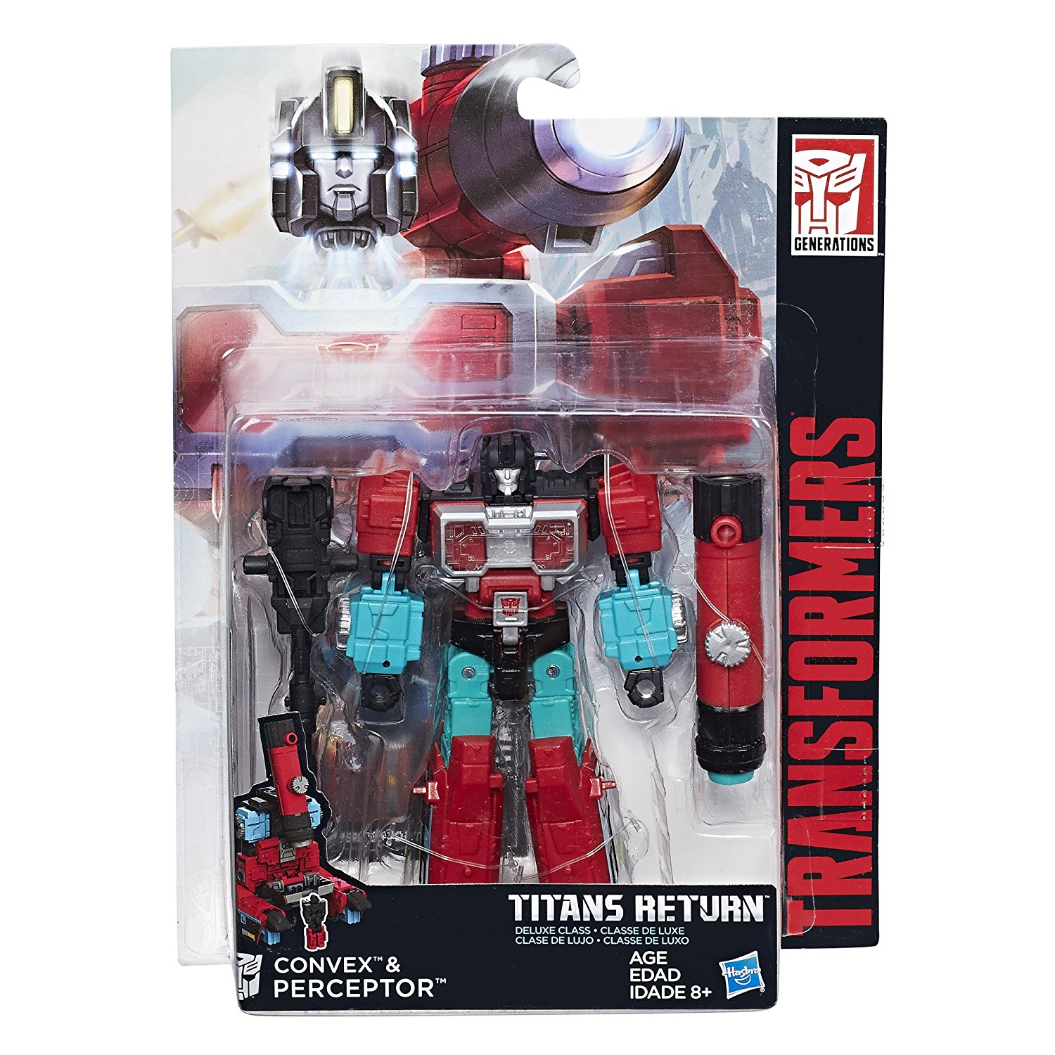 Transformers Generations Titans Return Autobot Perceptor and Convex by TRANSFORMERS