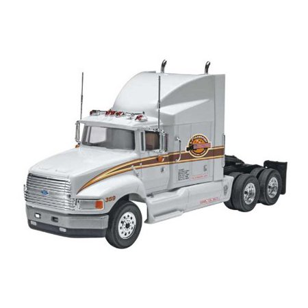Ford Aeromax Plastic Model Kit, Kit features an aerodynamic sleeper cab with a detailed interior, separate side aero panels By Revell Ship from US (Standard Cab Models)