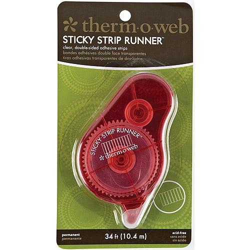 Sticky Strip Runner Permanent-34