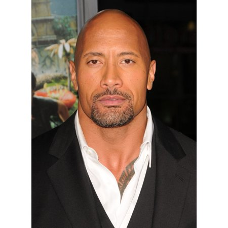 Dwayne Johnson At Arrivals For Journey 2 The Mysterious Island Premiere Canvas Art     16 X 20