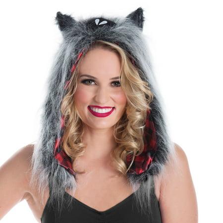 Halloween Woman Wolf Hoodie
