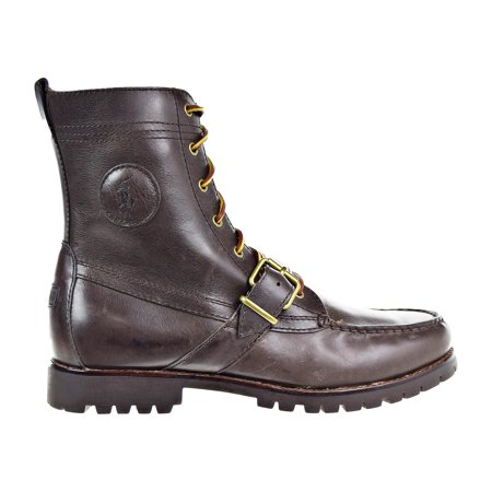 ffab9fbf4e6 Polo Ralph Lauren Men's Ranger Boots Dark Brown 812615506-001